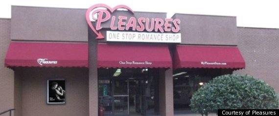 PLEASURES ADULT STORE TOYS FOR TOTS DRIVE