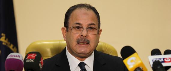 EGYPTIAN INTERIOR MINISTER MAGDY ABDEL GHAFFAR