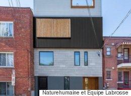 Découvrez la «Stacked House» au cœur du Plateau-Mont-Royal (PHOTOS)