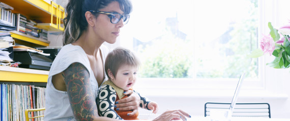 WORKING MOM HAPPY