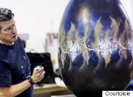 Art Coco : quand les œufs deviennent des œuvres d'art
