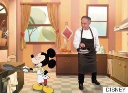 Ferran Adrià se alía con Mickey (y compañía) para enseñar a cocinar sano en familia