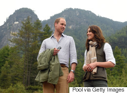 Will And Kate Hike The Himalayas To Reach Majestic Monastery