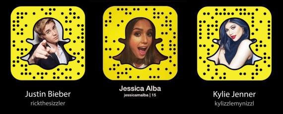 snapchat famosos