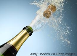 La montée en flèche du champagne