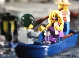 Il raconte son histoire d'amour en Lego (VIDÉO)