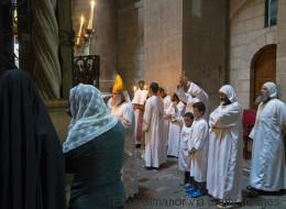 La centralité de Jérusalem: les lieux saints