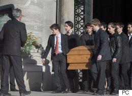 Des centaines de personnes aux funérailles de Bernard Lamarre
