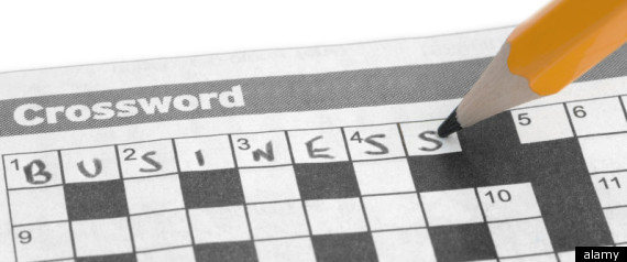 Crosswords Help Ward Off Dementia Symptoms