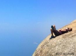 Esta foto en Pedra da Gavea debe ser la más escalofriante de todos los tiempos