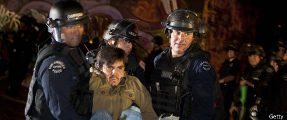Occupy Protesters Raids