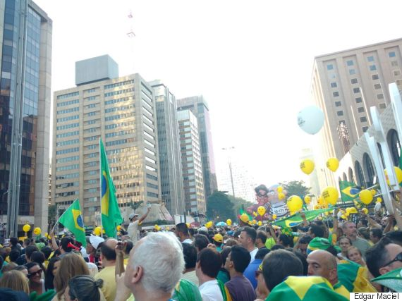 manifestações contra dilma