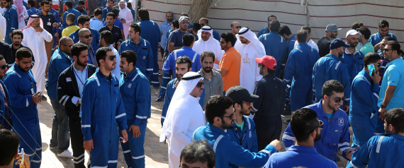 STRIKE BY OIL WORKERS IN KUWAIT