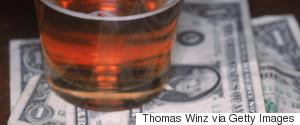 MONEY ALCOHOL