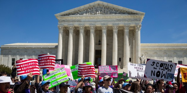 Supreme Court justices appear split on immigration programs
