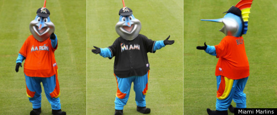 Billy The Marlin Mascot New Look Outfits