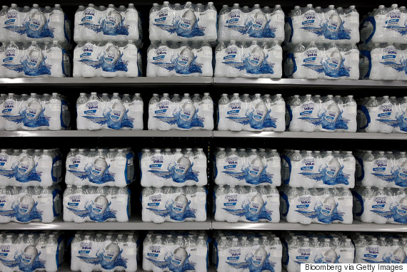 bottled water walmart
