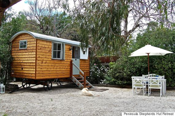 peninsula shepherds hut retreat