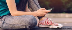 TEENAGER SMARTPHONE