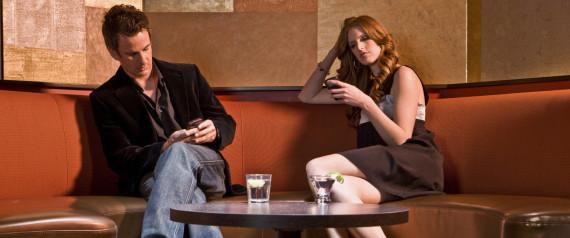 COUPLE PHONES BAD DATE