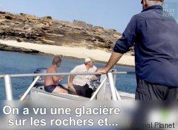 Une équipe de télé sauve un homme perdu sur une île déserte
