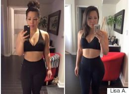 This Woman Lost 4.8% Of Her Body Fat In Less Than A Month