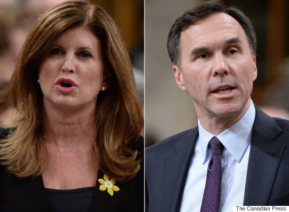 rona ambrose bill morneau