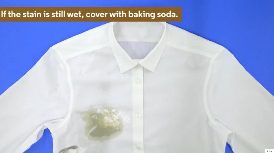 How to remove a coffee stain from your crisp white shirt for How to remove coffee stain from white shirt