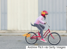 Life Lessons While Teaching Your Child to Ride Their Bike