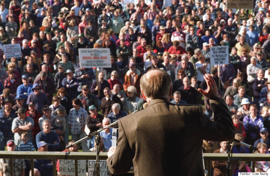 john howard sale rally