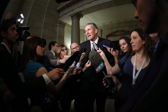 Manitoba Election 2016: PC Leader Brian Pallister Set To Become Next ...: www.huffingtonpost.ca/2016/04/19/nasty-campaign-over-as-voters-go...