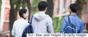 CHINA UNIVERSITY STUDENT BACK