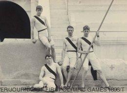 El deporte es inmortal y las fotos de los primeros Juegos Olímpicos Modernos lo demuestran