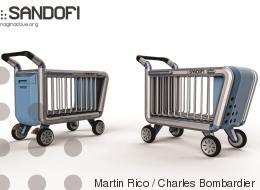 Sandofi: un chariot pour faciliter la vie des itinérants