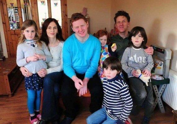 fiona oleary e família