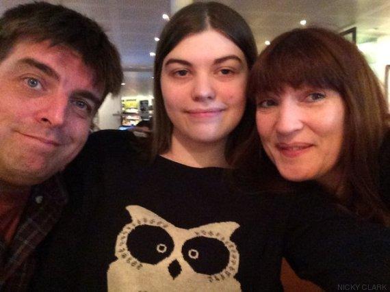 nicky clark e família