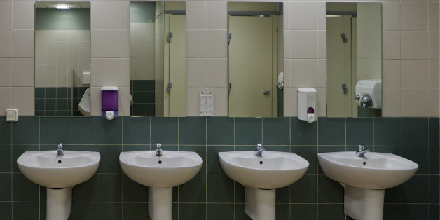 Public Bathroom Mirror the unlikely place i found body acceptance | huffpost