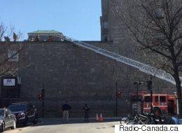 Incendie maîtrisé à l'Hôtel-Dieu de Montréal