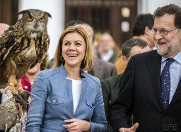 5 fotos locas de Rajoy en El Toboso y Puerto Lápice
