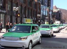 Les taxis électriques de Taillefer prêts «à remplacer» Uber (VIDÉO)
