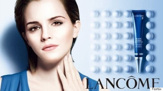 skin whitening advertisement