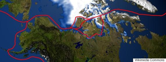 northwest passage map canada