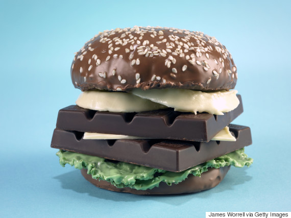 chocolate burgers