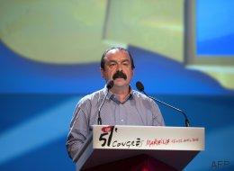 Philippe Martinez réélu à la tête d'une CGT en crise