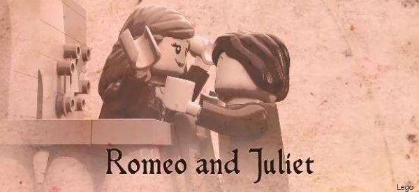 Lego celebra Shakespeare nel modo più romantico