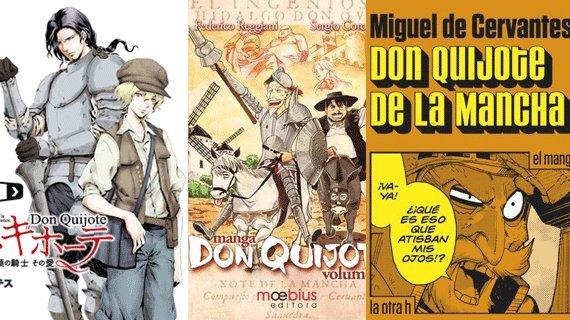 manga quijote