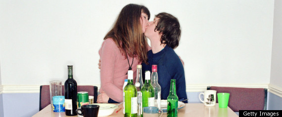 Quarter Of Brits Kiss At Party