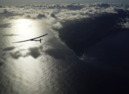 Solar-Powered Plane Nears Completion Of Trip Over Pacific