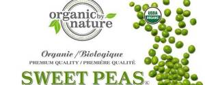 ORGANIC BY NATURE PEAS