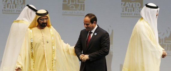 SISI AND RULER OF ABU DHABI